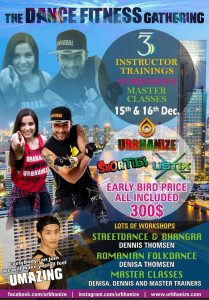 Dance fitness GATHERING in BANGKOK – Dec. 15th+16th.